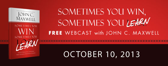 LiveWebcast with John Maxwell, Dave Ramsey and Nick Vujicic