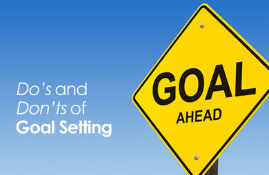 Mistakes of goal setting
